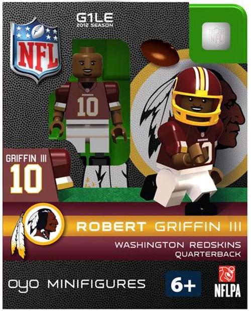 Washington Redskins NFL Generation 1 2012 Season Robert Griffin III Minifigure