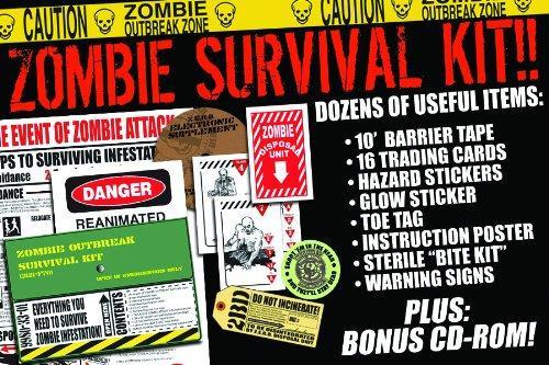 Zombies Zombie Outbreak Survival Kit