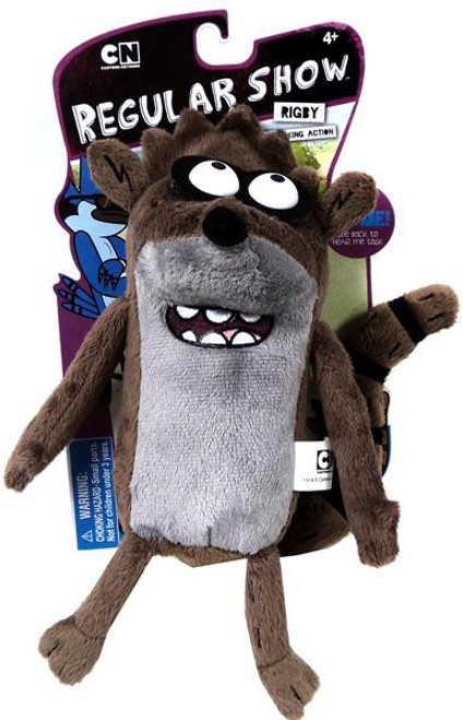 Cartoon Network Regular Show Deluxe Pullstring Rigby 9-Inch Plush
