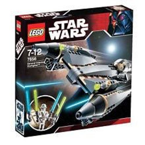 LEGO Star Wars The Clone Wars General Grievous Starfighter Set #7656