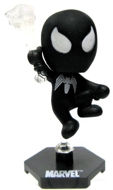 Marvel Grab Zags Spider-Man Minifigure [Black]