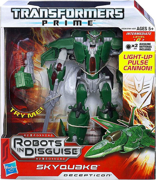 Transformers Prime Robots in Disguise Skyquake Voyager Action Figure