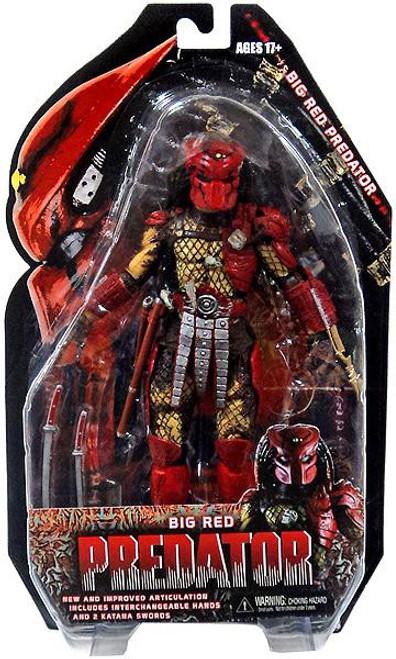NECA Series 7 Big Red Predator Action Figure
