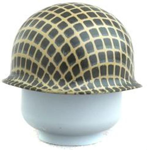 Citizen Brick Custom Painted M1 Steel Pot Helmet with Webbing Loose Accessory