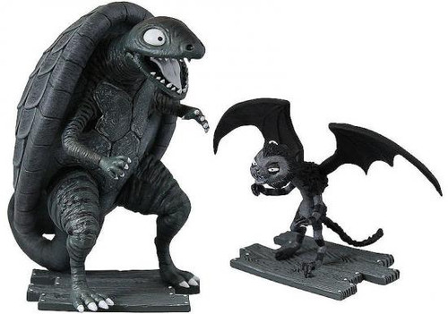 Frankenweenie Turtle Monster & Vampire Cat Mini Figure 2-Pack