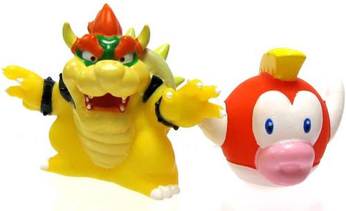 Super Mario Subarudo Bowser & Cheep Cheep 2-Inch Mini Figures