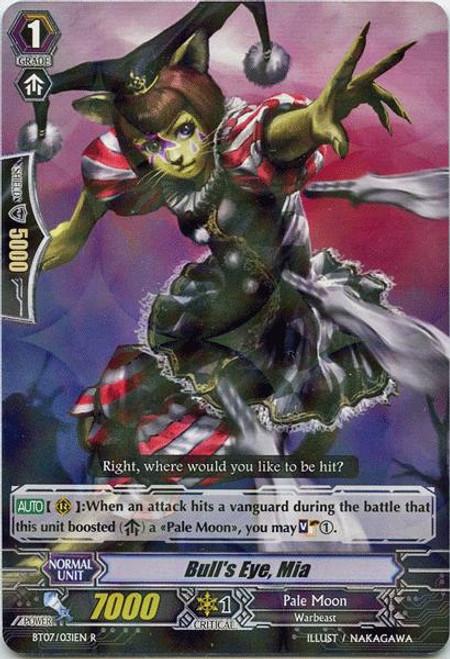 Cardfight Vanguard Rampage of the Beast King Rare Bull's Eye, Mia BT07-031