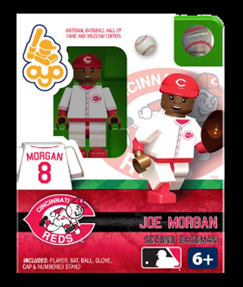Cincinnati Reds MLB Hall of Fame Joe Morgan Minifigure