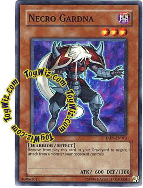 YuGiOh GX Tactical Evolution Super Rare Necro Gardna TAEV-EN012