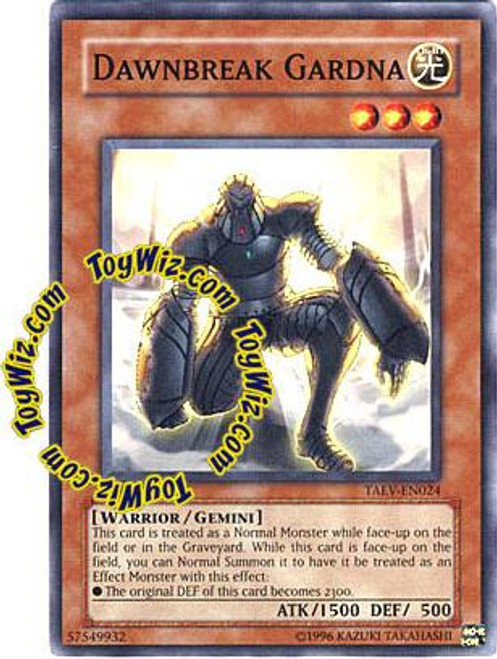 YuGiOh GX Tactical Evolution Common Dawnbreak Gardna TAEV-EN024