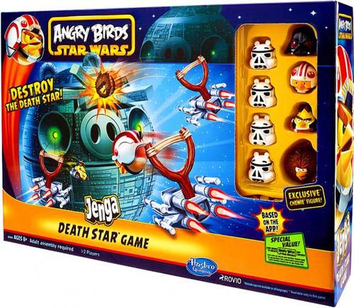 Star Wars Angry Birds Jenga Death Star Game
