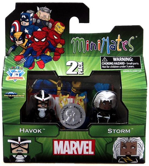 Captain America The Winter Soldier Minimates Series 14 Havok & Storm Exclusive Minifigure 2-Pack