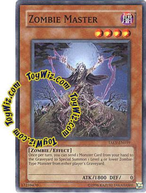 YuGiOh GX Tactical Evolution Super Rare Zombie Master TAEV-EN039