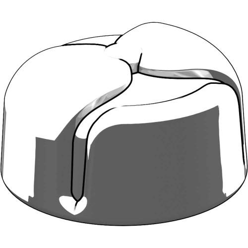 BrickArms Headgear Ushanka 2.5-Inch [White Rubber]