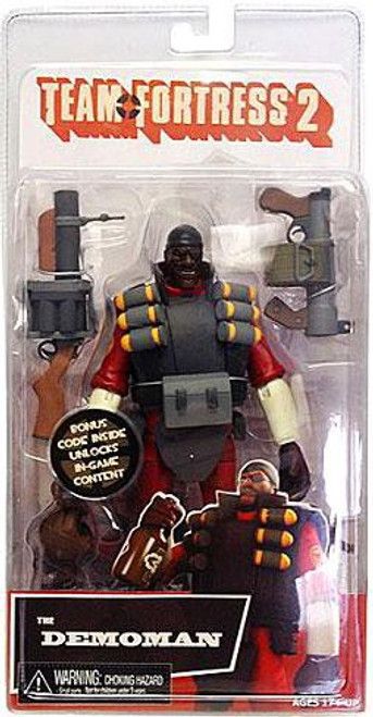 NECA Team Fortress 2 RED Series 1 The Demoman Action Figure