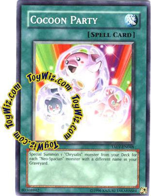 YuGiOh GX Tactical Evolution Common Cocoon Party TAEV-EN048