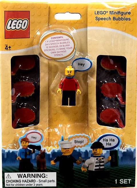 LEGO Speech Bubbles Minifigure Accessory KP008 [Red Shirt]