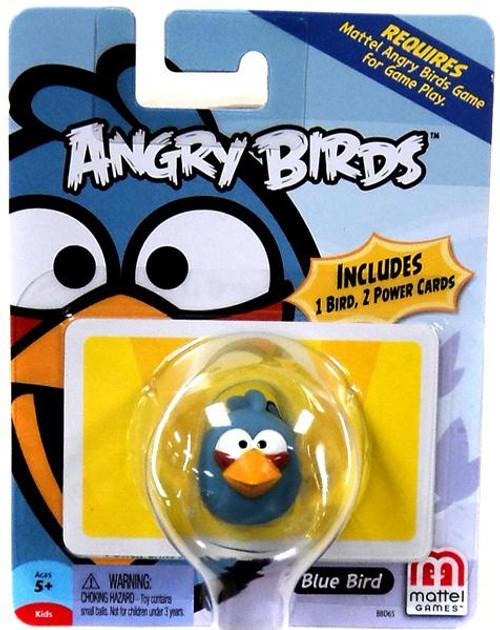 Mattel Angry Birds Game Blue Bird Mini Figure
