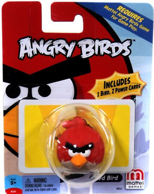 Mattel Angry Birds Game Red Bird Mini Figure