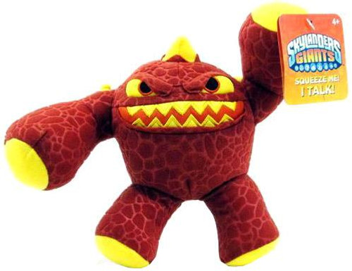 Skylanders Giants Talking Toss 'Ems Eruptor 7-Inch Plush