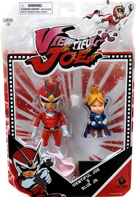 Series 1 Viewtiful Joe & Blue Jr. Action Figure 2-Pack