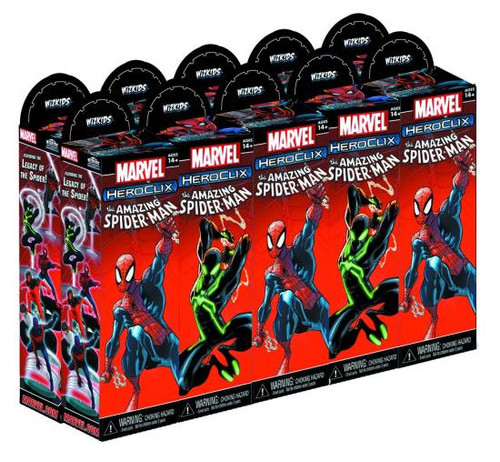 Marvel HeroClix The Amazing Spider-Man Booster Brick