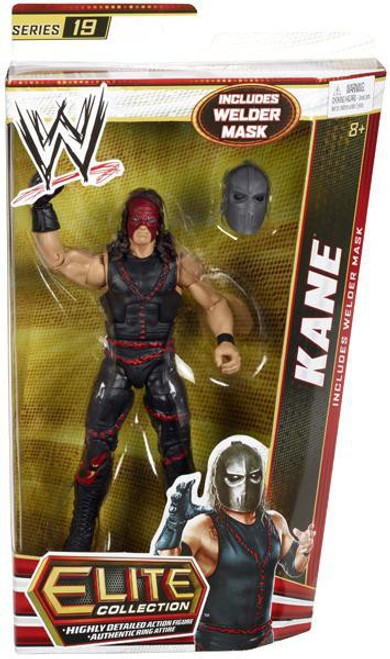 WWE Wrestling Elite Series 19 Kane Action Figure [Welder Mask]