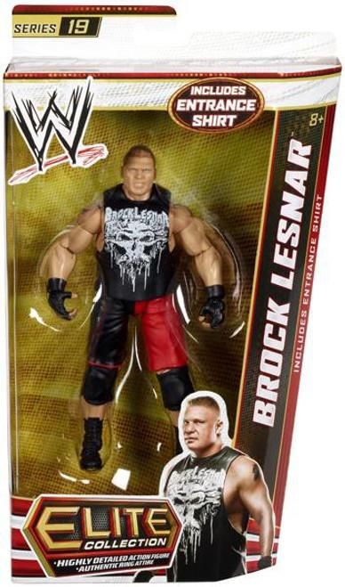 WWE Wrestling Elite Series 19 Brock Lesnar Action Figure [Entrance Shirt]