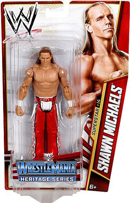 WWE Wrestling Series 26 Shawn Michaels Action Figure #14