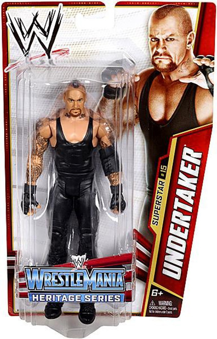 WWE Wrestling Series 26 Undertaker Action Figure #15