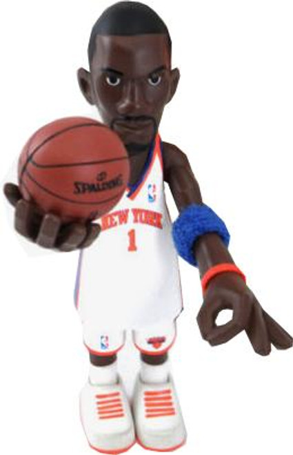 NBA New York Knicks Series 1 Amare Stoudemire Action Figure [White Uniform]