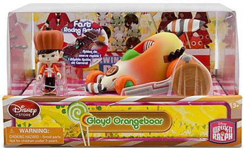 Disney Wreck-It Ralph Sugar Rush Racer Gloyd Orangeboar Exclusive Figure Set
