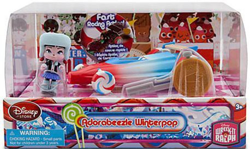 Disney Wreck-It Ralph Sugar Rush Racer Adorabeezle Winterpop Exclusive Figure Set