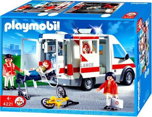 Playmobil Rescue Ambulance Set #4221