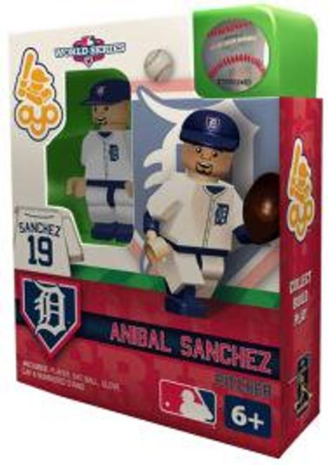 Detroit Tigers MLB 2012 World Series Anibal Sanchez Minifigure