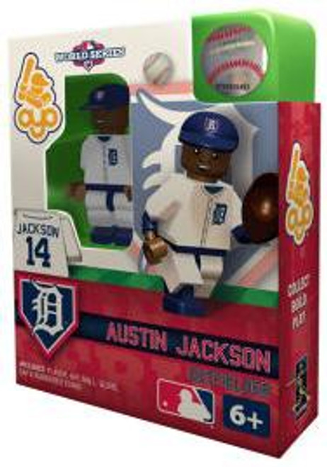 Detroit Tigers MLB 2012 World Series Austin Jackson Minifigure