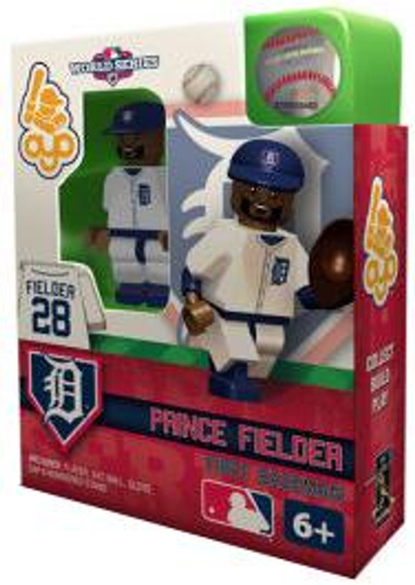 Detroit Tigers MLB 2012 World Series Prince Fielder Minifigure