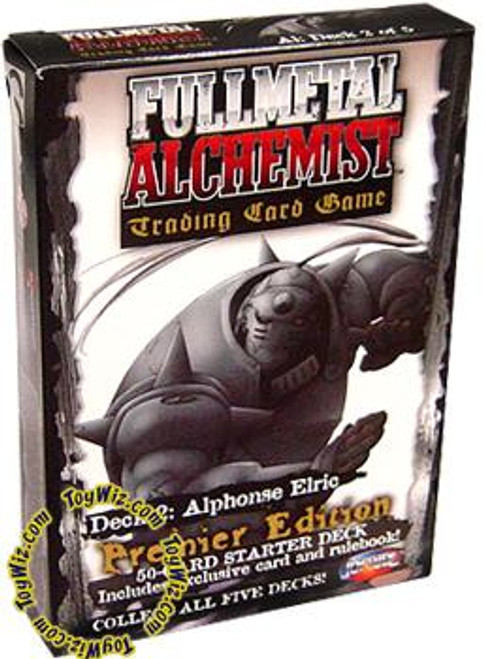 Fullmetal Alchemist Trading Card Game Premier Edition Alphonse Elric Starter Deck #2