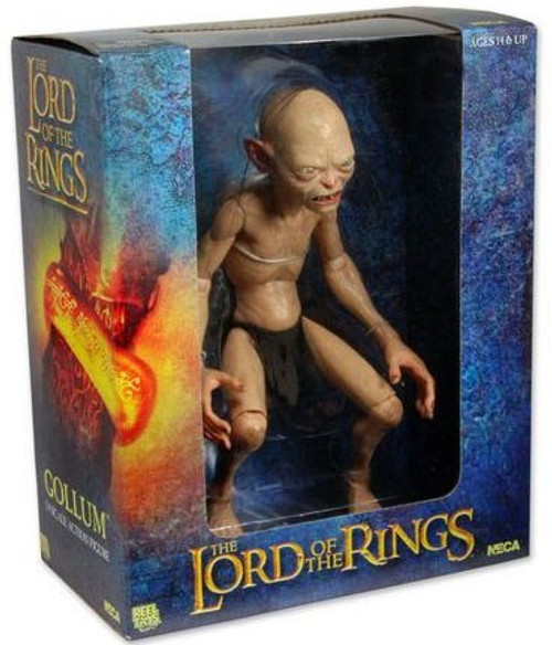NECA The Lord of the Rings Quarter Scale Gollum Action Figure