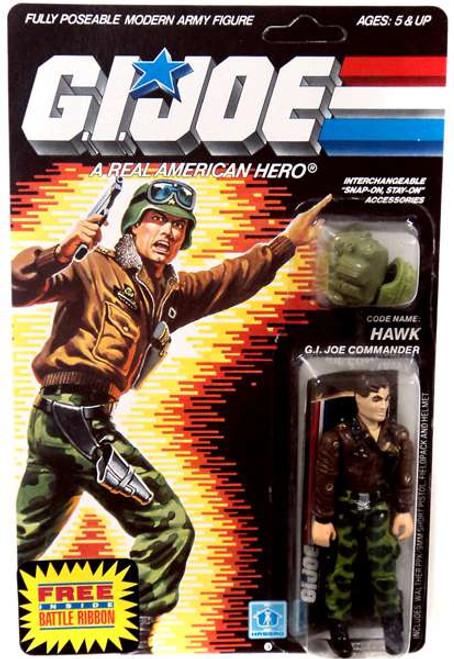 GI Joe Hawk Action Figure