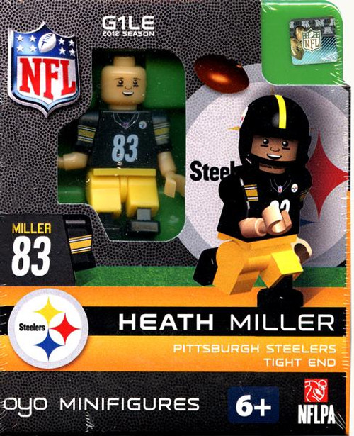 Pittsburgh Steelers NFL Generation 1 2012 Season Heath Miller Minifigure