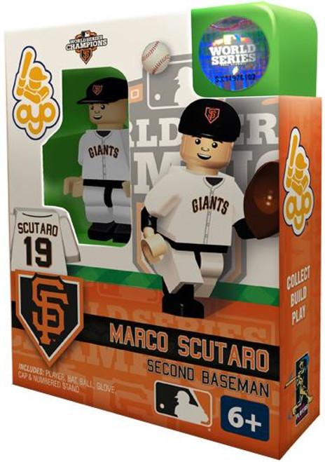 San Francisco Giants MLB 2012 World Series Champions Marco Scutaro Minifigure