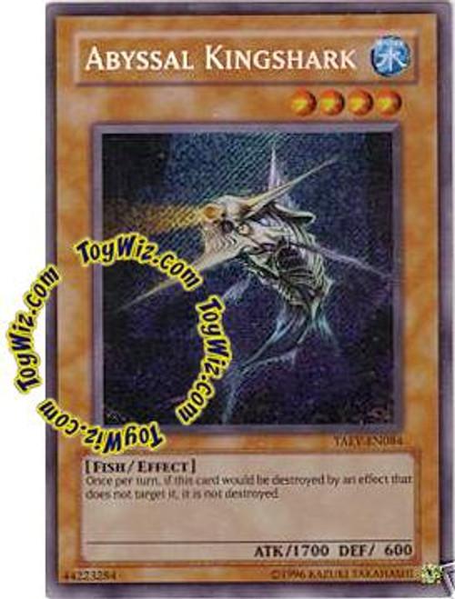 YuGiOh GX Tactical Evolution Secret Rare Abyssal Kingshark TAEV-EN084