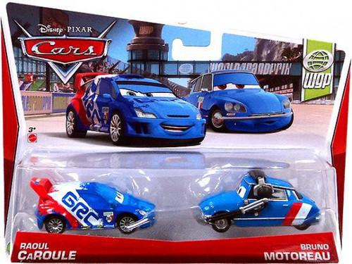 Disney Cars Series 3 Raoul Caroule & Bruno Motoreau Diecast Car 2-Pack