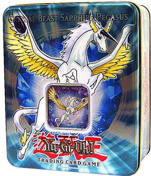 YuGiOh GX 2007 Collector Tin Crystal Beast Sapphire Pegasus Collector Tin [Sealed]