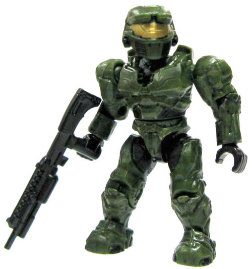 Mega Bloks Halo Series 5 Mark VI Spartan 2-Inch Minifigure [Green Loose]