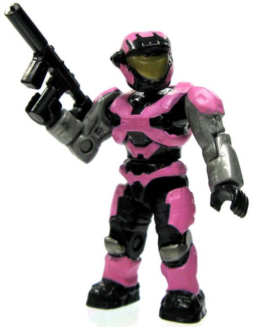 Mega Bloks Halo Loose Female Air Assault Spartan 2-Inch Minifigure [Pink Loose]