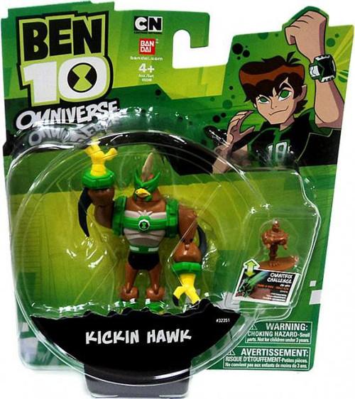 Ben 10 Omniverse Kickin Hawk Action Figure