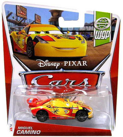 Disney Cars Series 3 Miguel Camino Diecast Car