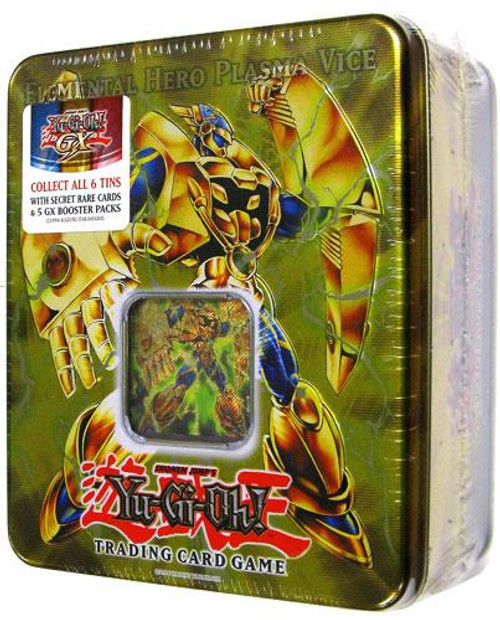 YuGiOh GX 2007 Collector Tin Elemental Hero Plasma Viceman Collector Tin [Sealed]